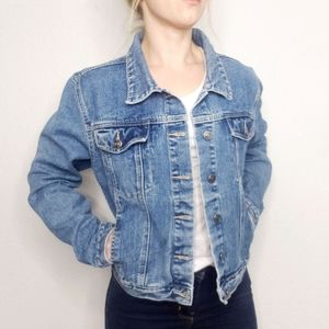 Vintage Y2K Rue21 Denim Jean Structured Jacket
